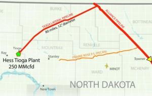Tioga Lateral - Alliance Pipeline