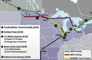 Sandpiper Pipeline Map - Enbridge