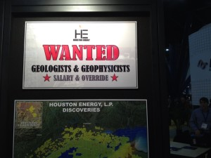 Geologist Wanted Ad