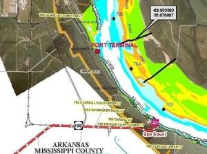 Rail to Crude Barge Facility Osceola AR
