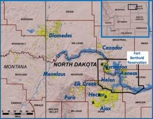Marathon Oil Bakken Map