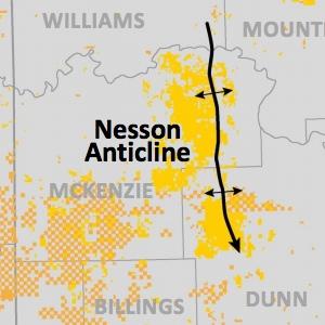 Conoco Phillips Bakken Acreage Map