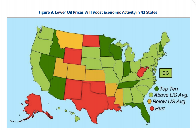 Low prices impact state economies