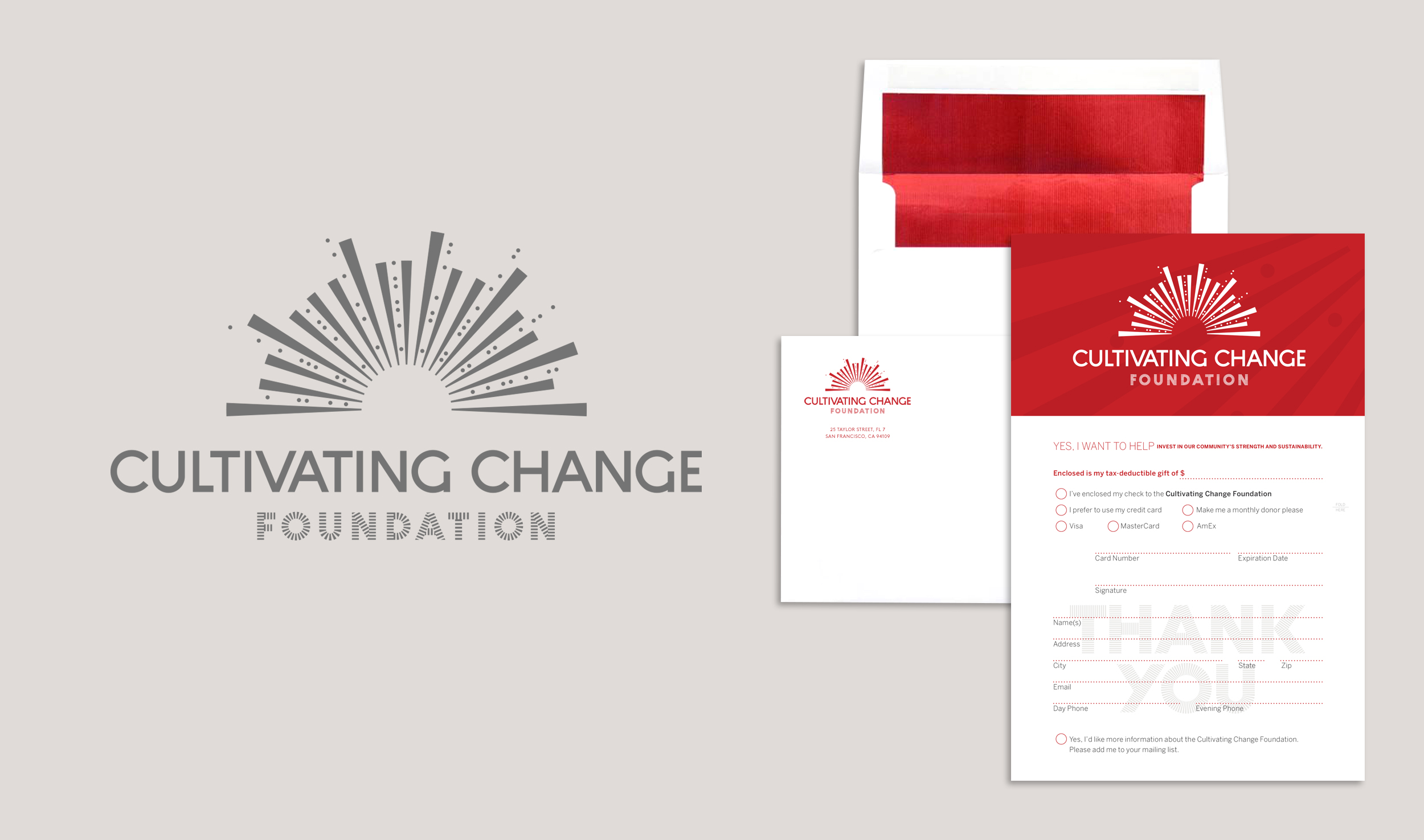 Logo, Donation Collateral