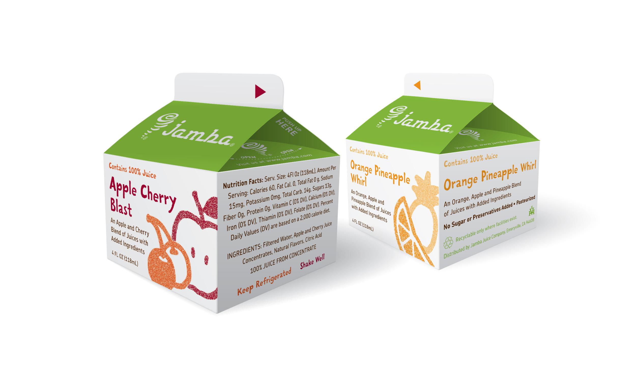 School Juice Carton Packaging