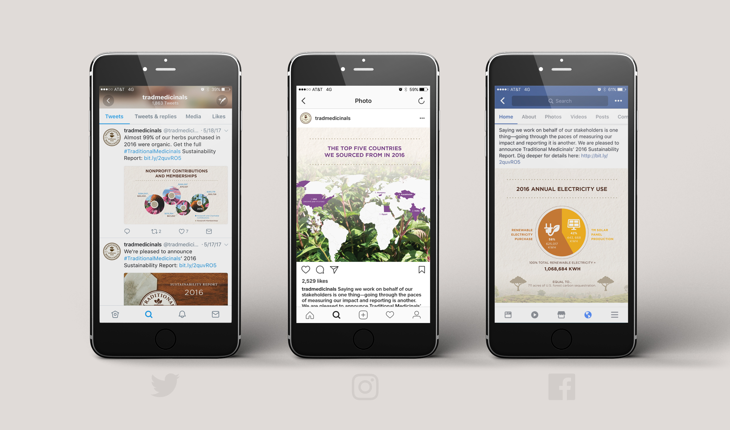 Digital Sustainability Report Social Media Assets