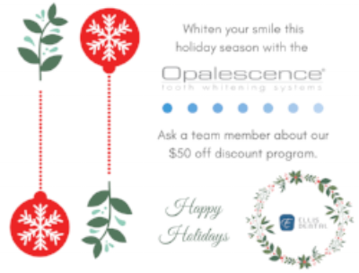 Ellis Dental Holiday Whitening Promotion