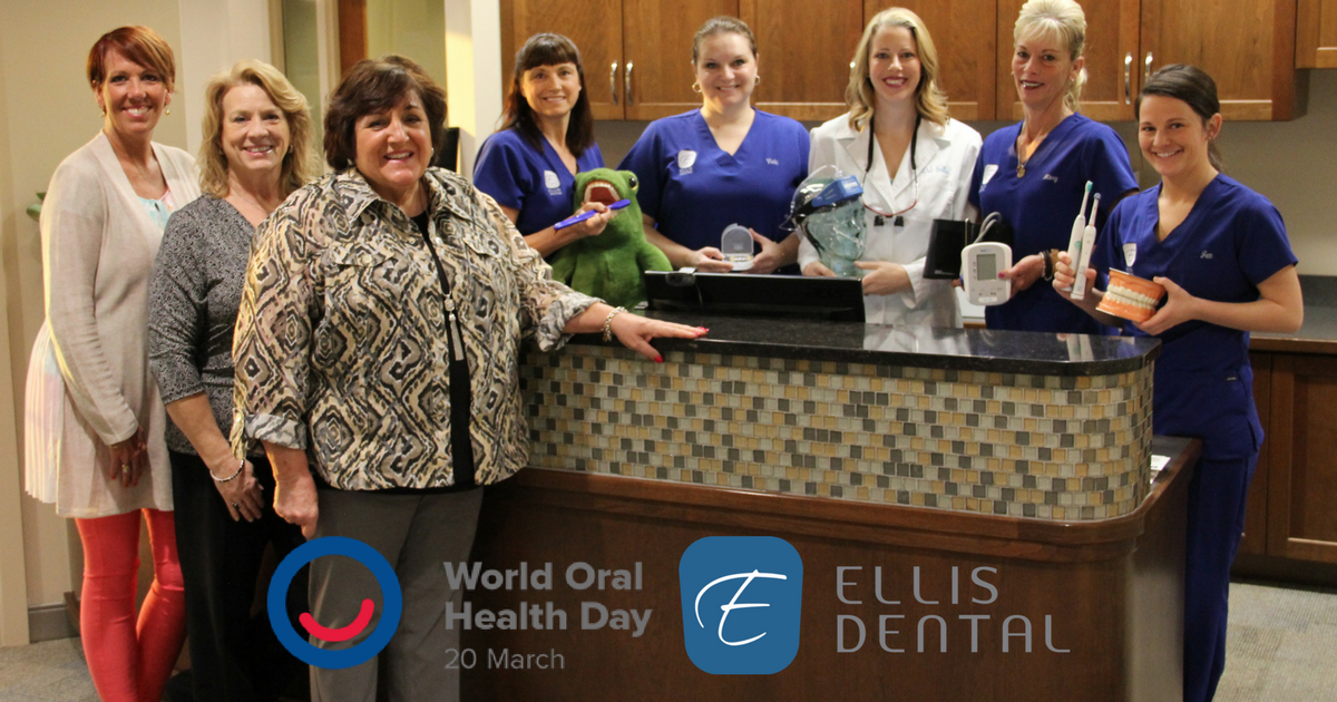 Ellis Dental supports World Oral Heal Day 2017