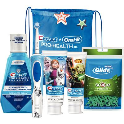 Children's Oral B Pro Health Jr. Electric Toothbrush Package - $30