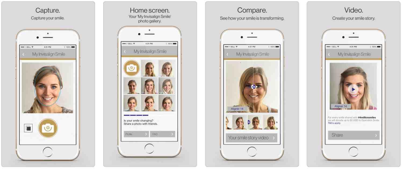 My Invisalign Smile App for Apple iPhone - Ellis Dental