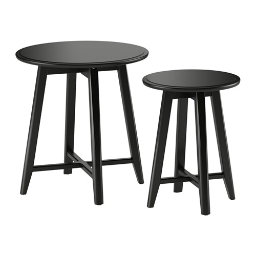 Nesting Tables as Nightstands