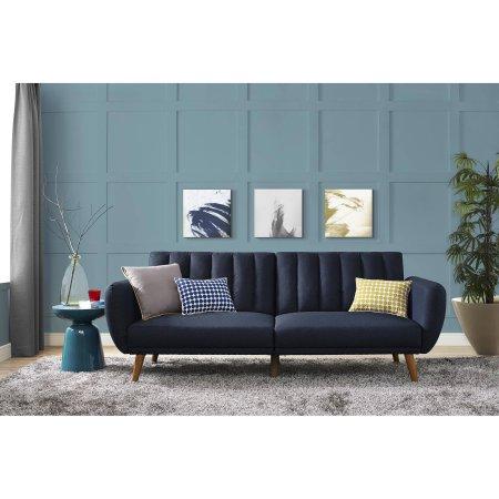 Sleek Novogratz 9 Fold down Futon Couch, Guest Approved
