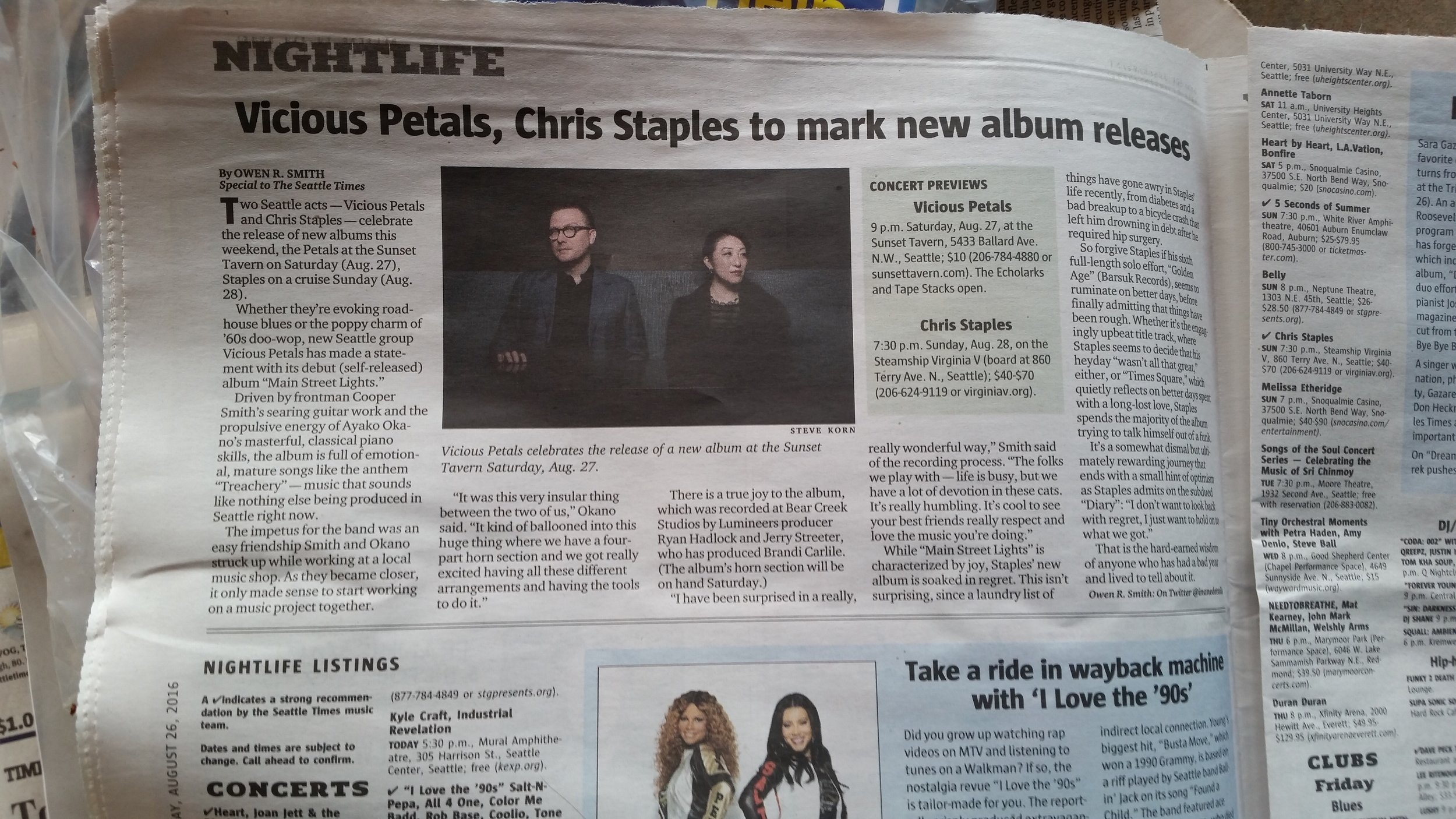 Look ma, we're in the paper!