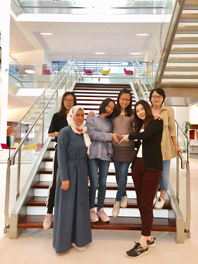 Equality, diversity, creativity, and novelty converge together here at KAUST. I am proud to have the privilege to work with them.