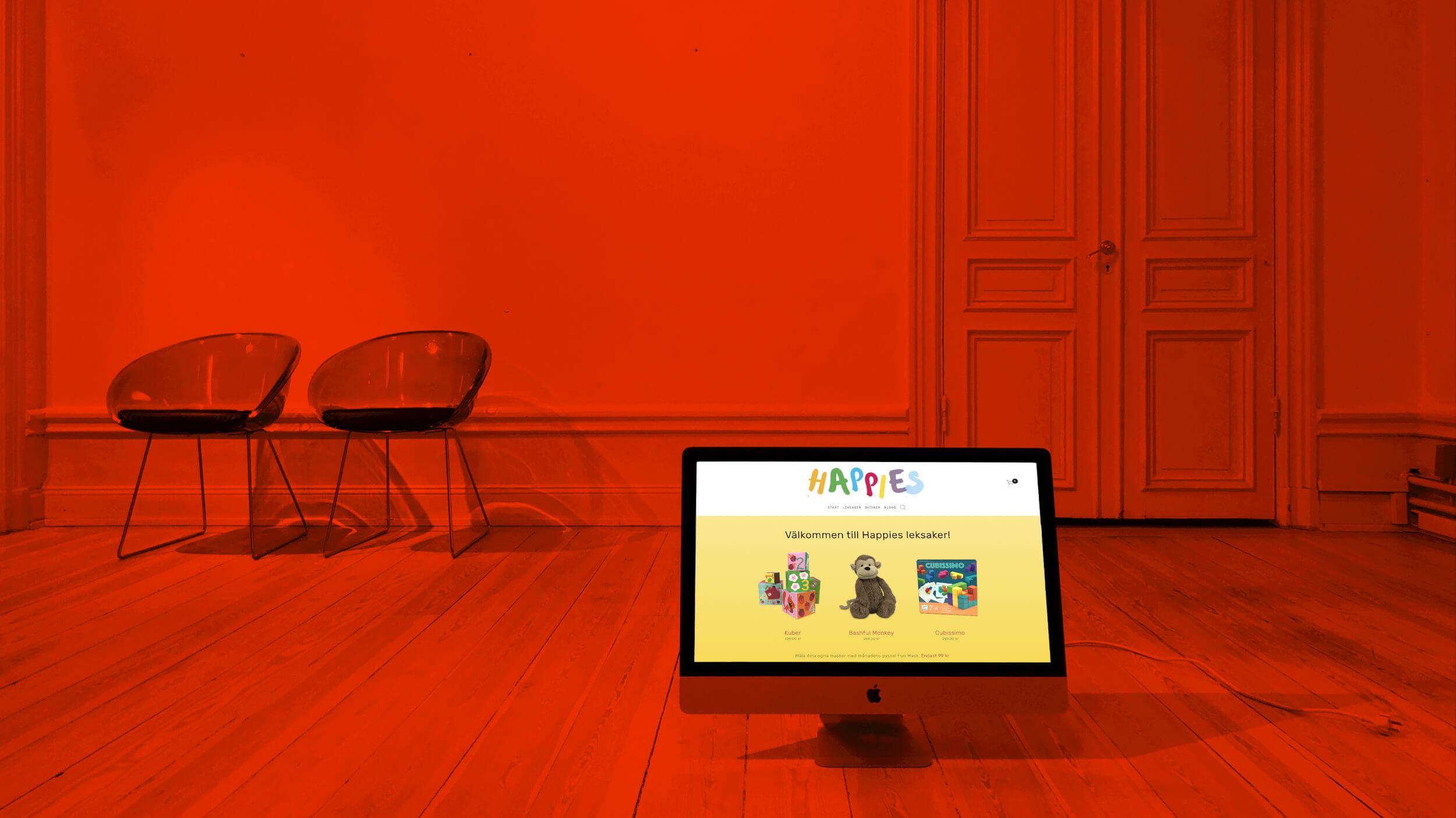 E-shop för Happies Leksaker