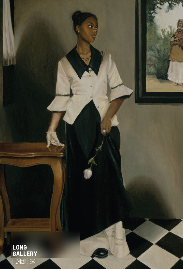 Armelle, 1997, Oil on canvas panel, 30 × 24 inches