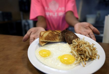 The Waffle Iron owner Danielle Johnson will be serving up classic breakfast dishes – along with sandwiches, salads and vegetables – at her new 4969 Park Ave. location.  (Patrick Lantrip/Daily Memphian)