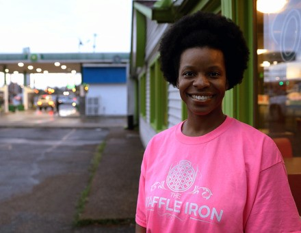 Danielle Johnson owned The Waffle Iron in Collierville for two years before fire damage closed the restaurant. Now she's moved into the former E's 24-Hour Café at 4949 Park Ave., adjacent to Marquette Park in East Memphis.  (Patrick Lantrip/Daily Memphian)