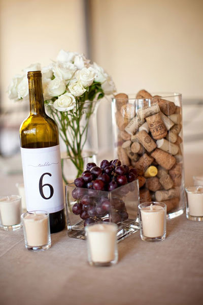 Wine Tasting Party Centerpiece Ideas