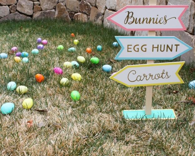 www.ohsofancyparty.com - Easter Egg Hunt