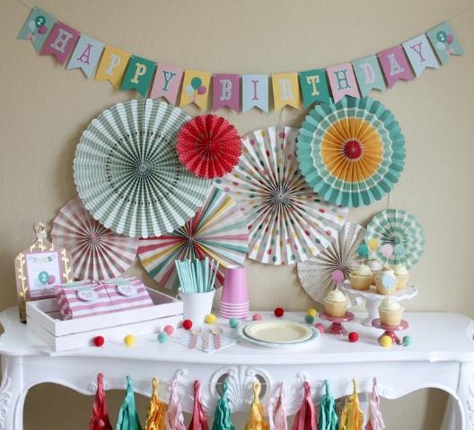 Hip Hip Hooray Birthday Party in a Pinch - www.ohsofancyparty.com - Oh So Fancy
