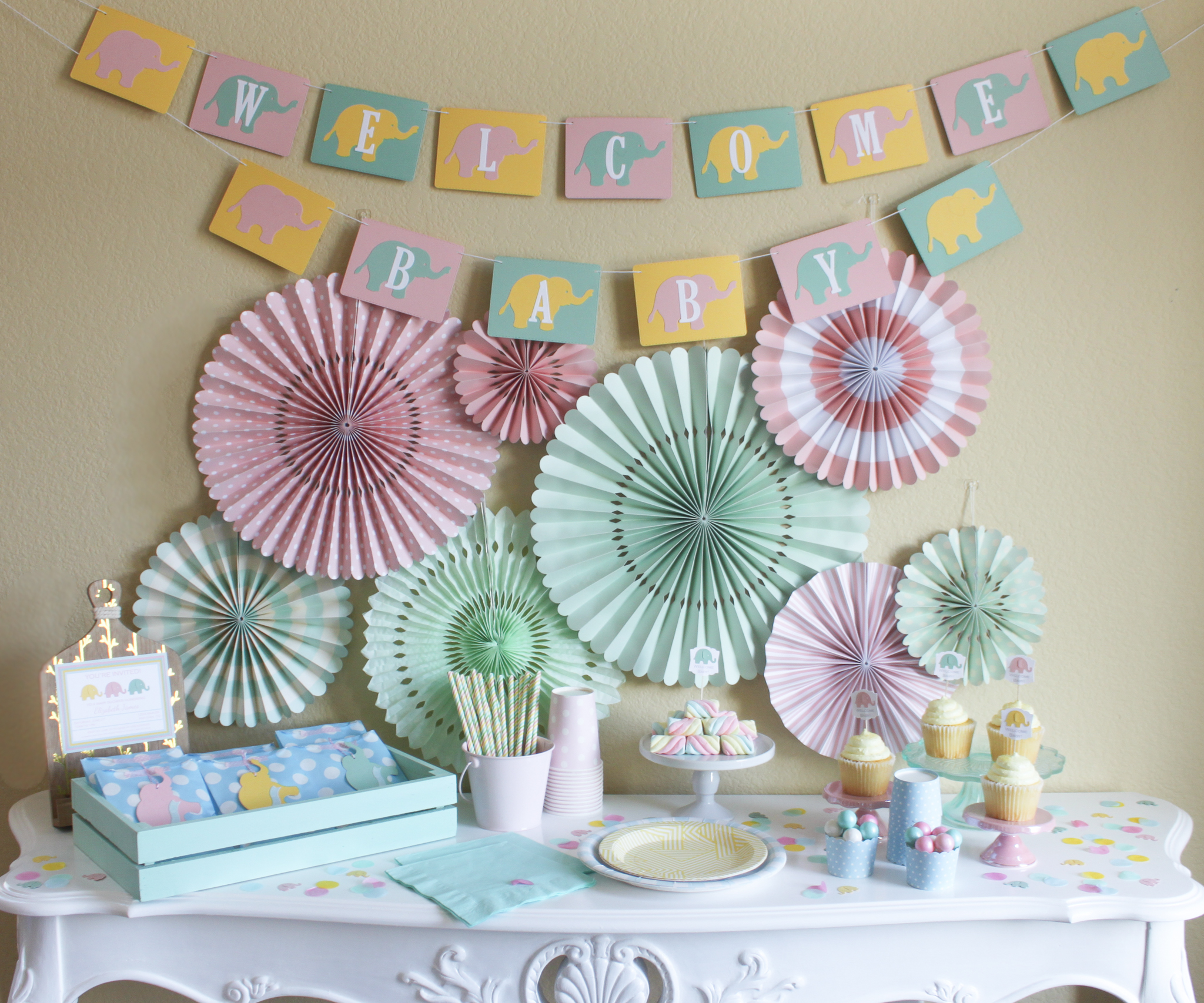 Welcome Little Peanut Pinch Cover - OhSoFancyParty.jpg