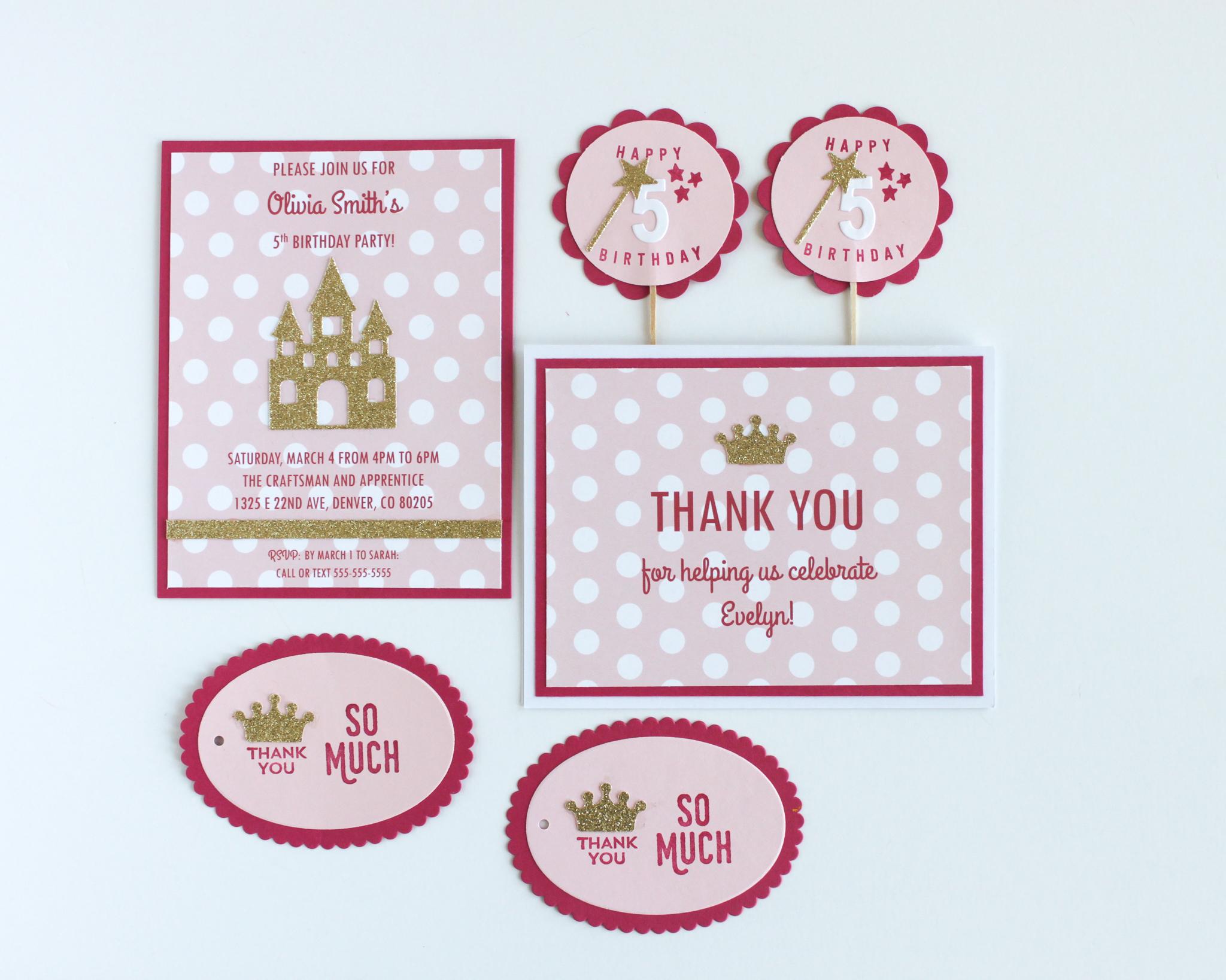"""Pretty Princess"" Paper Package"