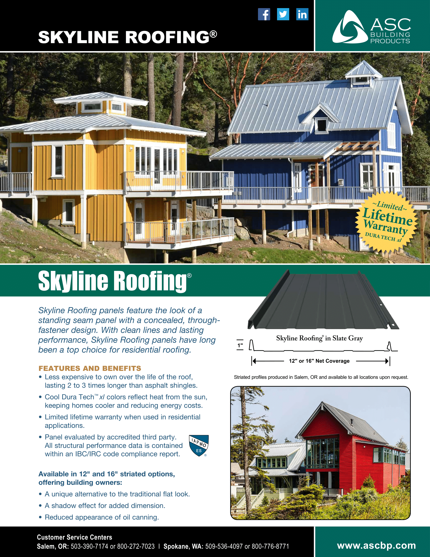 Skyline Roofing | Metal Roofing Anchorage, AK