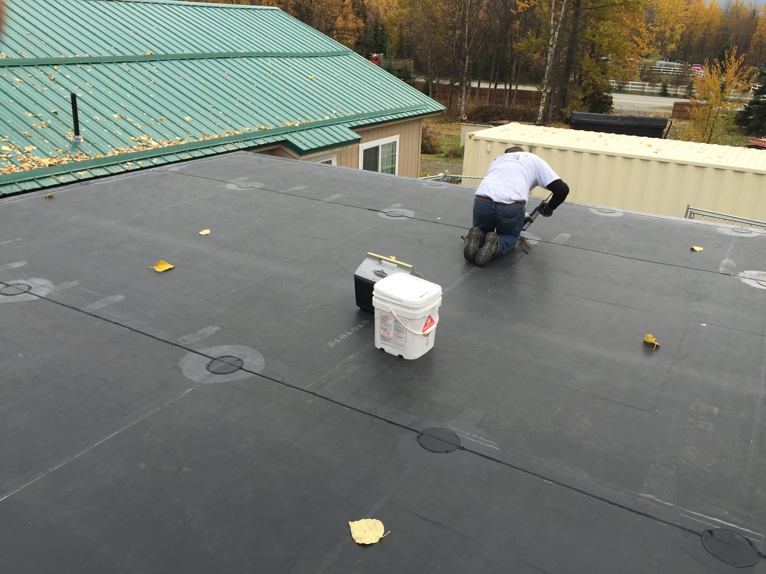 EPDM (Rubber) Roof - Anchorage, Alaska - Premier Roofing Co.