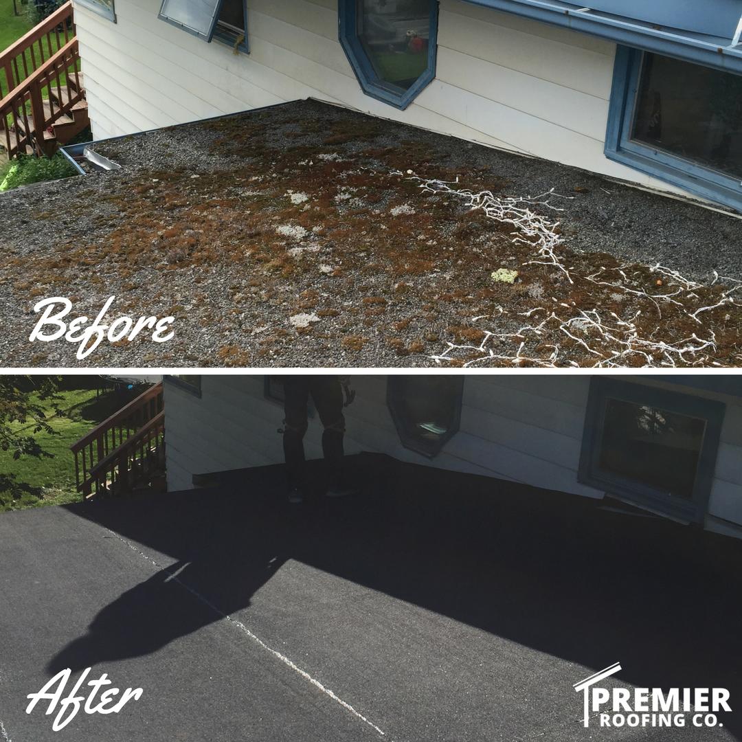 APP Modified Bitumen Roof - Anchorage, Alaska - Premier Roofing Co.