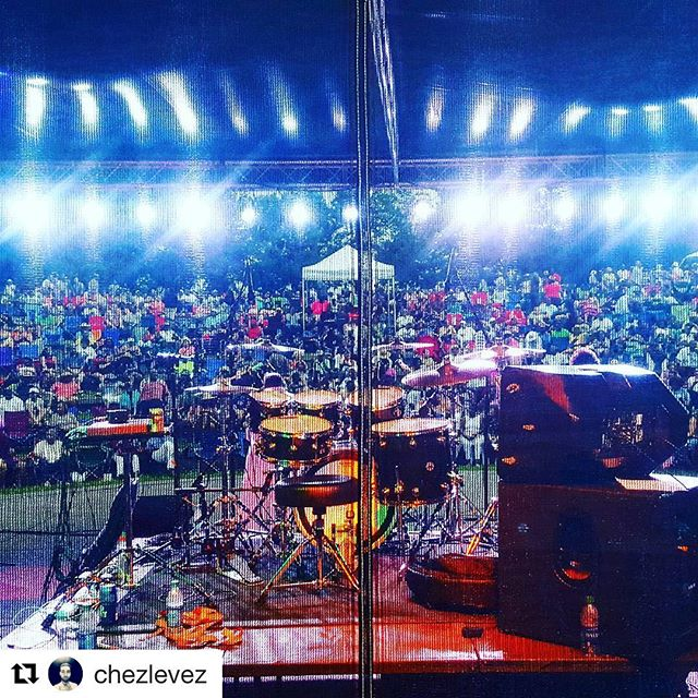 #Repost @chezlevez with @repostapp ・・・ Been working at the #jeffersonstjazzfestival all day