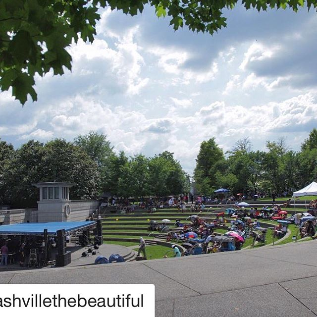 #Repost @nashvillethebeautiful with @repostapp ・・・ Music City, yall. There is nothing better! Listening to music at @jeffersonstjazzbluesfestival today! They will be playing until 10pm tonight! Click the link in our bio for more info.  #NashvilletheBeautiful  #jeffersonst #nashvillejazzbluesfest #jeffersonstsound