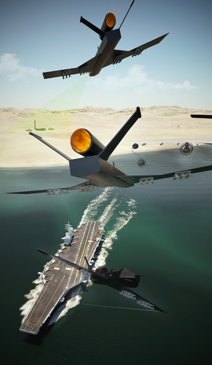 UAV Concept  - 3d Illustration