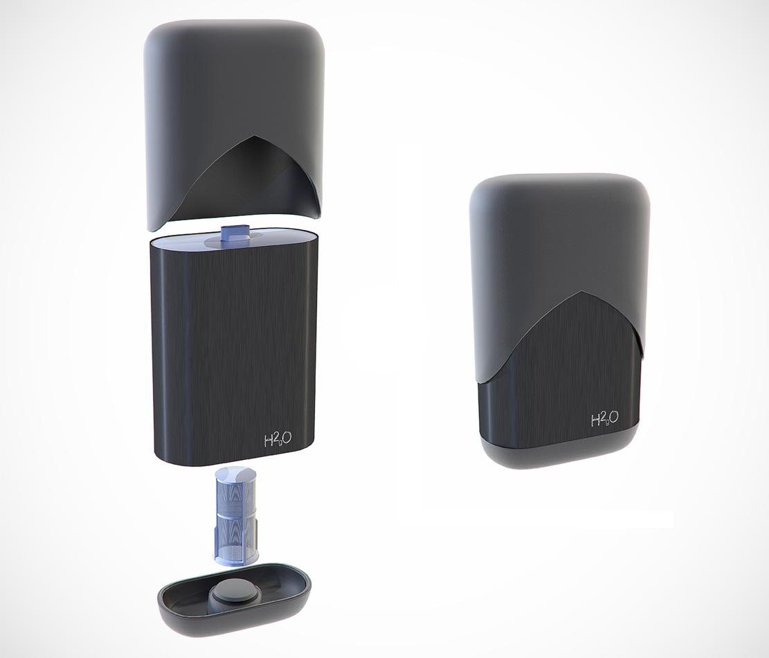 H2Go  - Product Design Visualisation