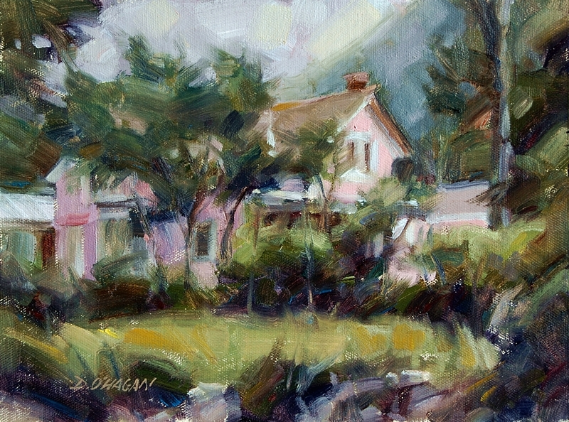 """Georgetown, Colorado""</br>9"" x 12""</br>Oil"