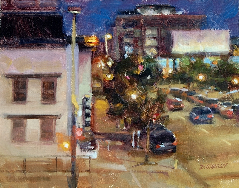 """Market and 20th, Denver""</BR>11"" x 14""</BR>Oil"