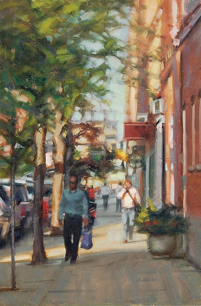 """Summer Light, Lodo  (Denver)""</BR>24"" x 36""</BR>Oil"