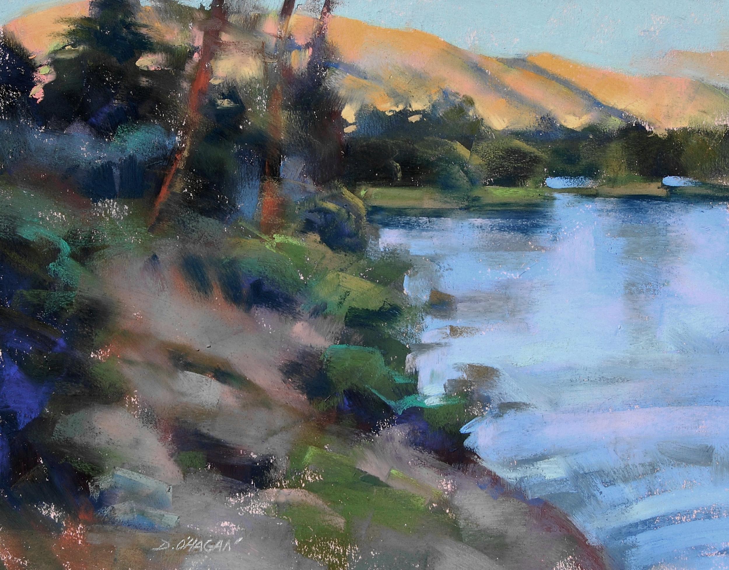 """Lake Dillon, Colorado"" </BR>11"" x 14""   </BR>Pastel"