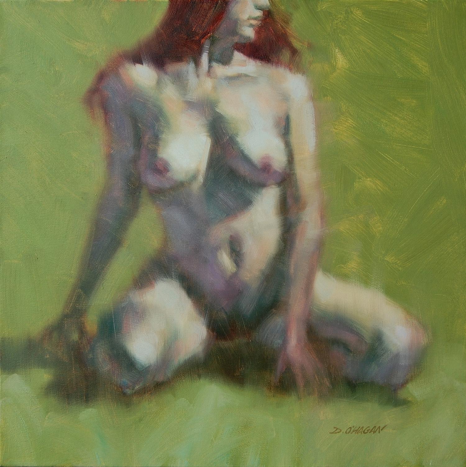 "The Female Figure #3   </br>18"" x 18""</br>Oil"