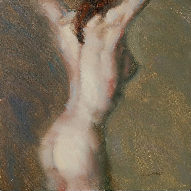 "The Female Figure #8   </br>18"" x 18""</br>Oil"