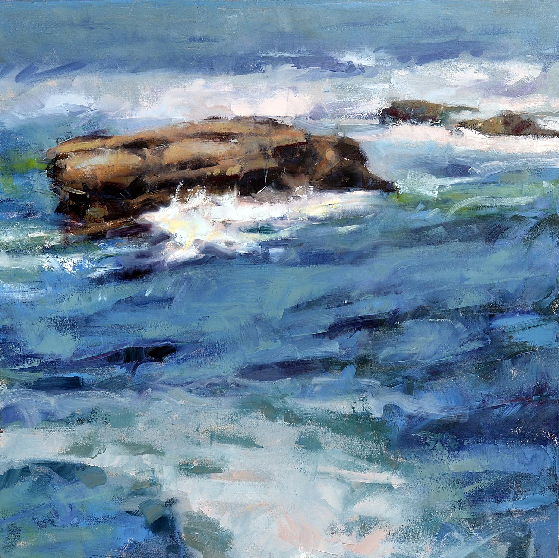 """Ocean Rhythms #3""  36""x 36""  Oil"