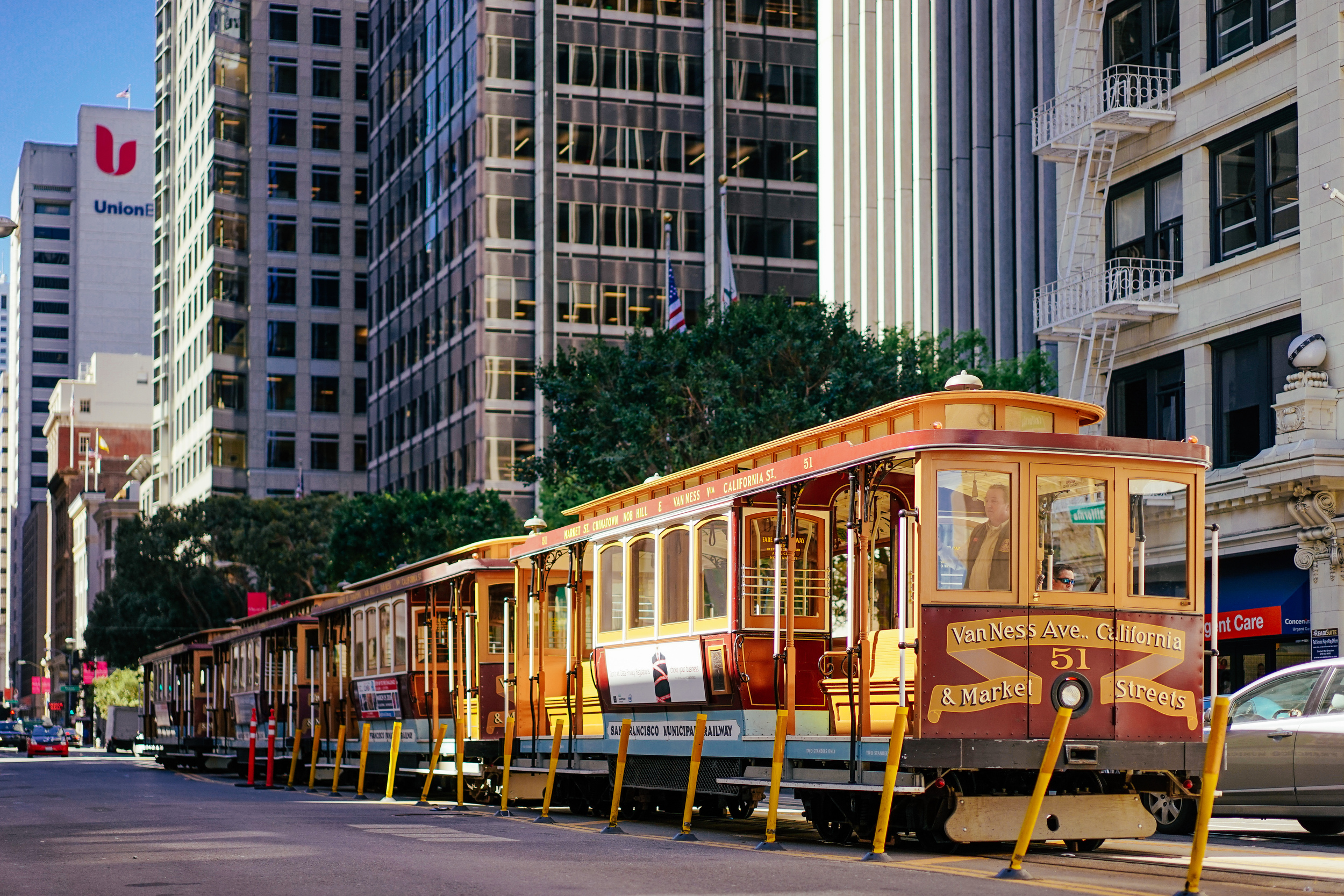 California Street Cable Cars