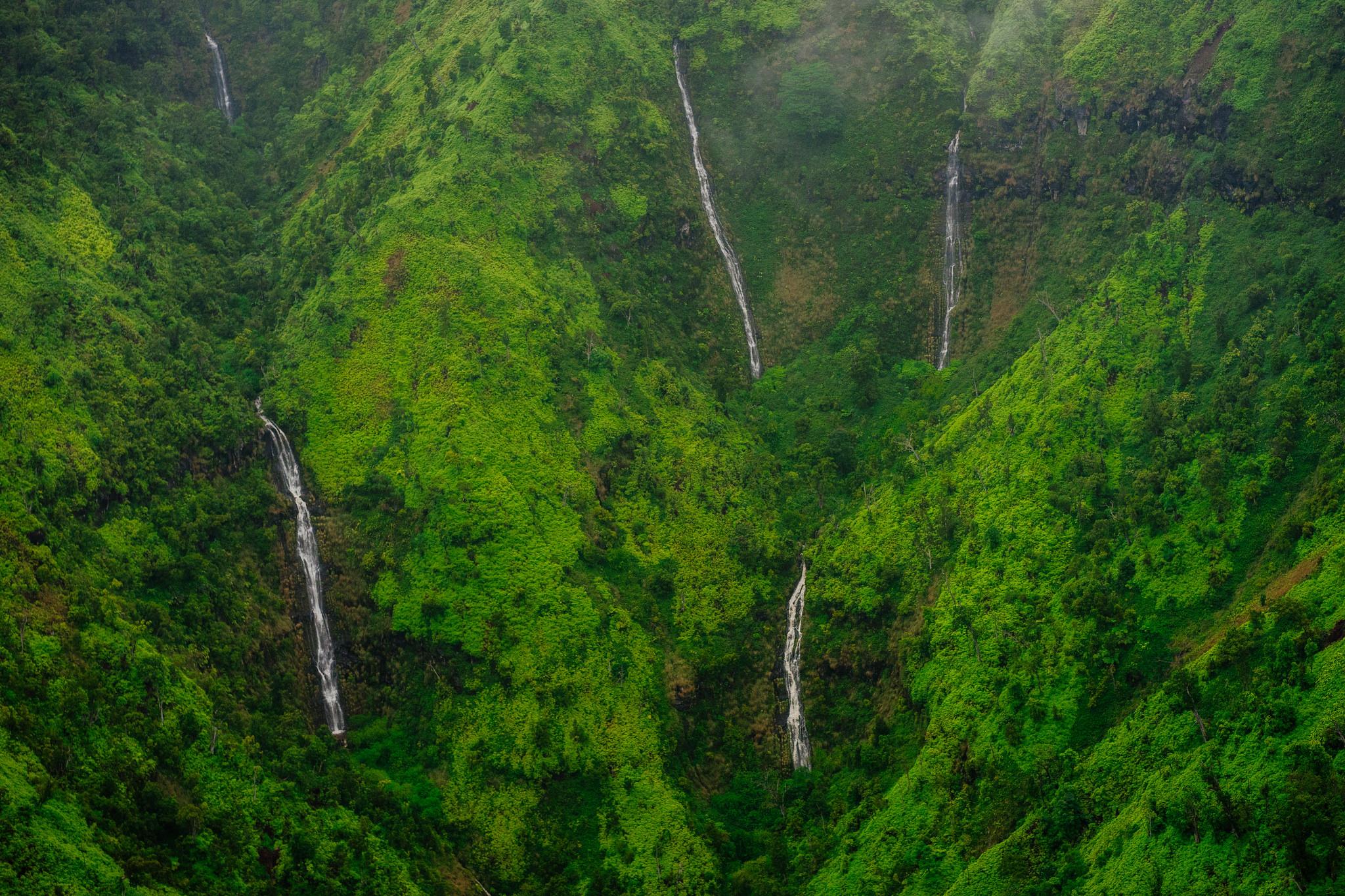 Kahili Falls (Five Sisters Falls)