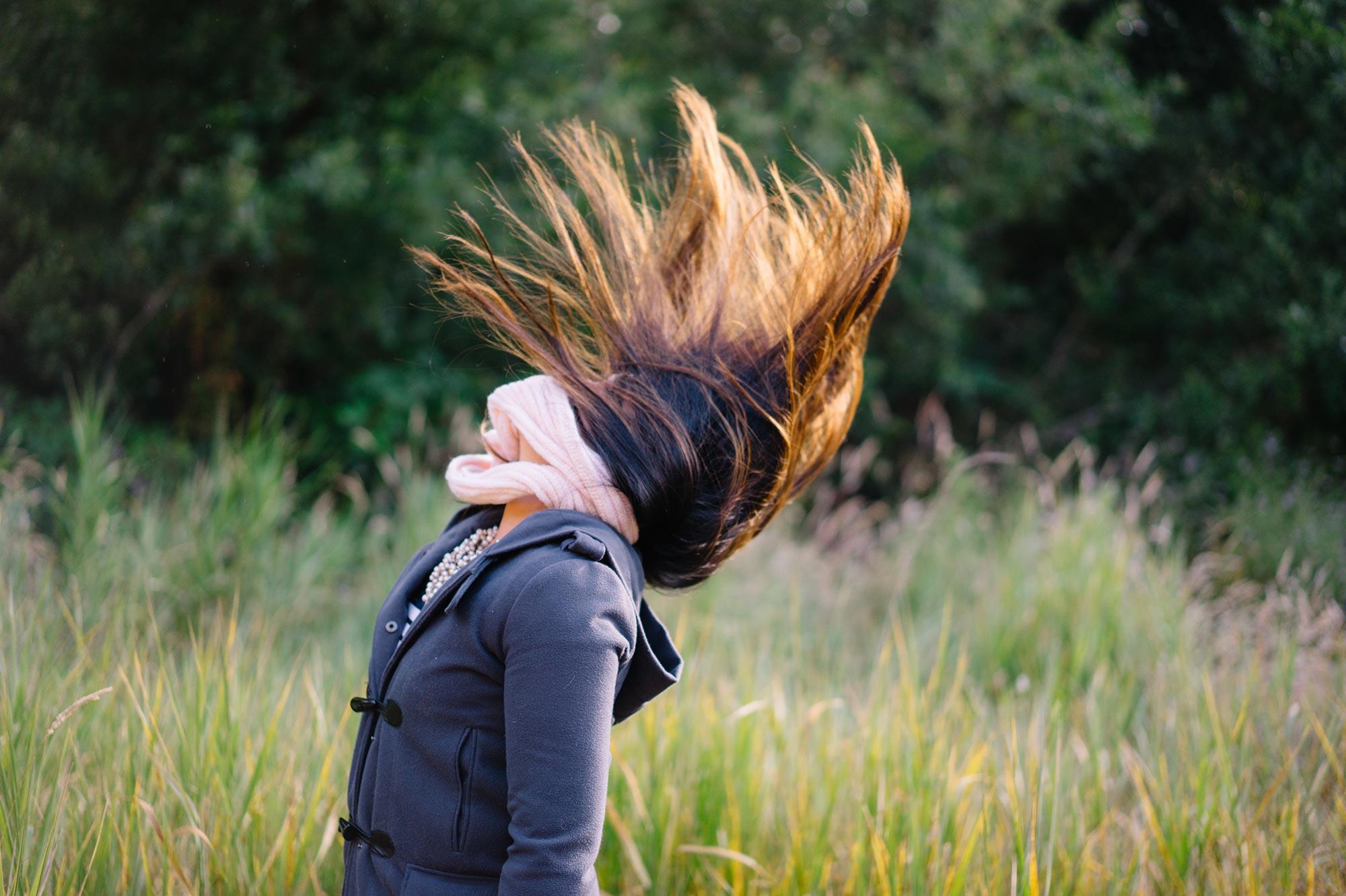 Hair flips gone wild