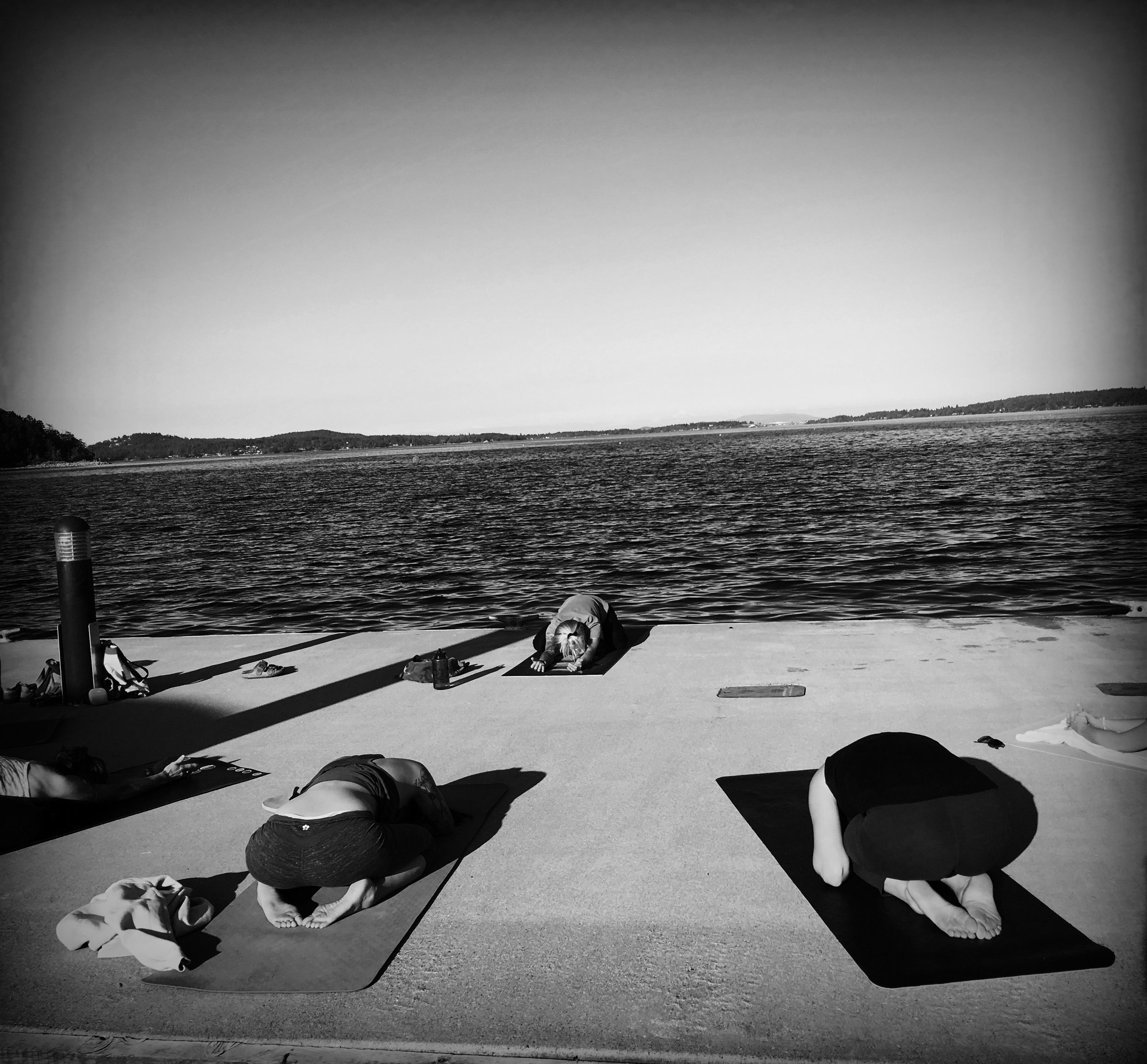 Yoga on the Dock