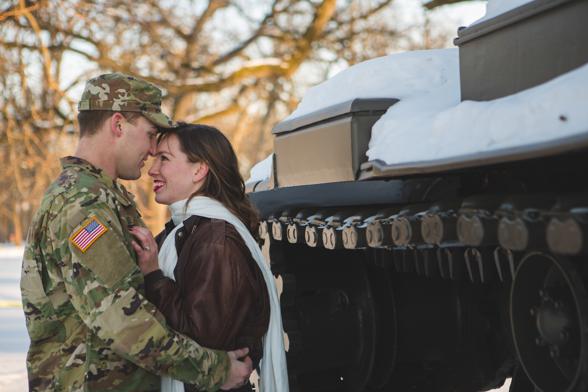 military engagement pictures cantigny wheaton illinois army national guard winter christmas snow batavia riverwalk riverfront-28.jpg