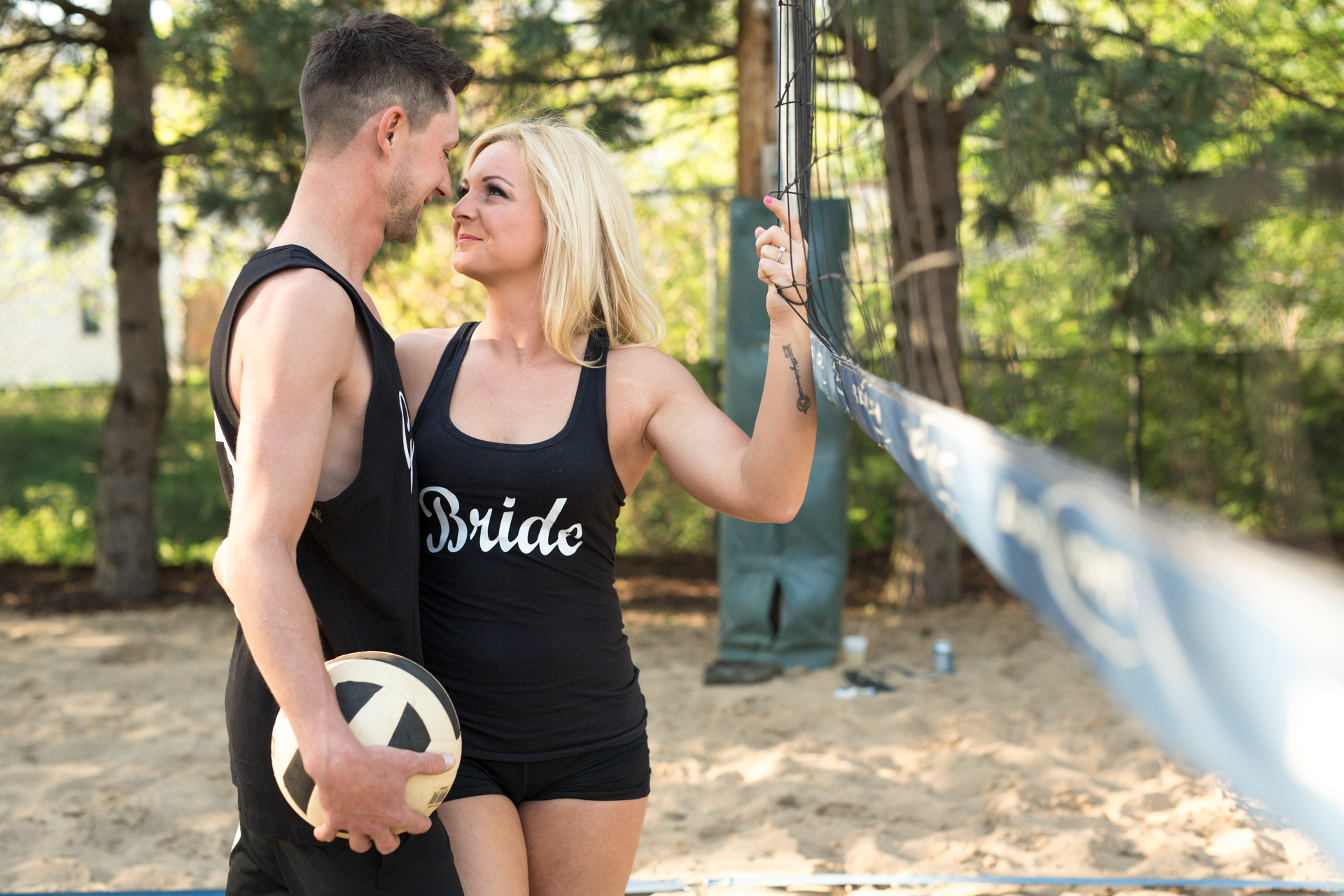 The Faits Peoria Bloomington Normal Central Illinois Unique Wedding Photographers Photographer Engagement Photography Uptown Normal Engagement Volleyball engagement-4.jpg