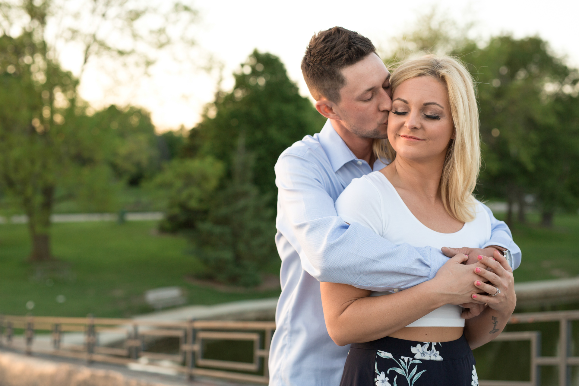 The Faits Peoria Bloomington Normal Central Illinois Unique Wedding Photographers Photographer Engagement Photography Uptown Normal Engagement Volleyball engagement-23.jpg