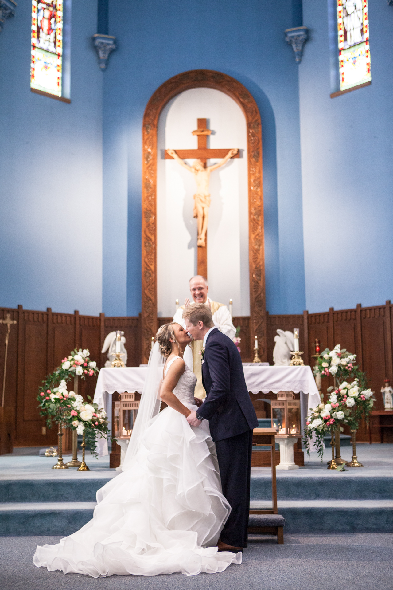 St. Patrick Catholic Church Minonk Packard Plaza Peoria Bloomington Normal Illinois Wedding Photographer Photographers Peoria Riverfront-24.jpg