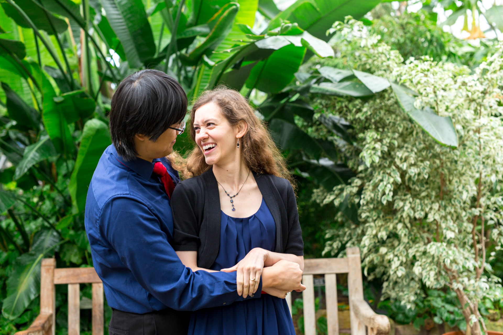 luthy botanical gardens greenhouse engagement biracial couple peoria centrail illinois wedding photographer photographers bloomington normal illinois valley lasalle peru ottawa-22.jpg